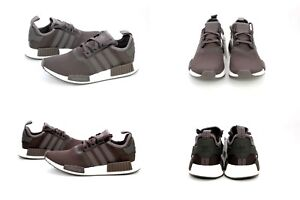 Adidas Originals NMD R1 Shoes Trace Grey Metallic White