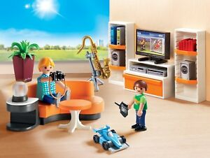 Image Is Loading Playmobil City Life 9267 Living Room House Modern