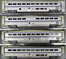 KATO N Scale Amtrak Superliner Phase IVB 4 Passenger Car Set a 1063515