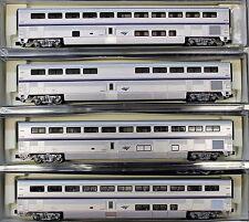 N Scale - KATO 106-3515 AMTRAK Superliner Phase IVb 4-Car Set A - Hard to Find