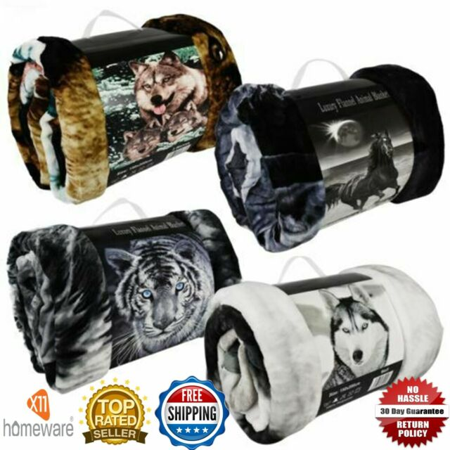 Wolf Blanket Fits Queen Or King Bed, Wolf Bed In A Bag Queen