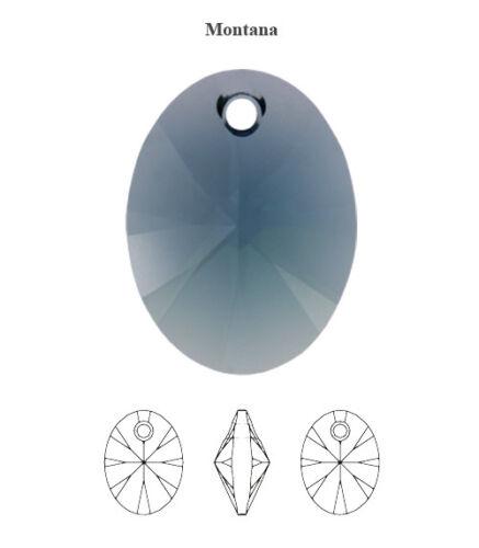 Original Swarovski 6028 XILION Ovalado Cristales Colgantes muchos Tamaños Y Colores