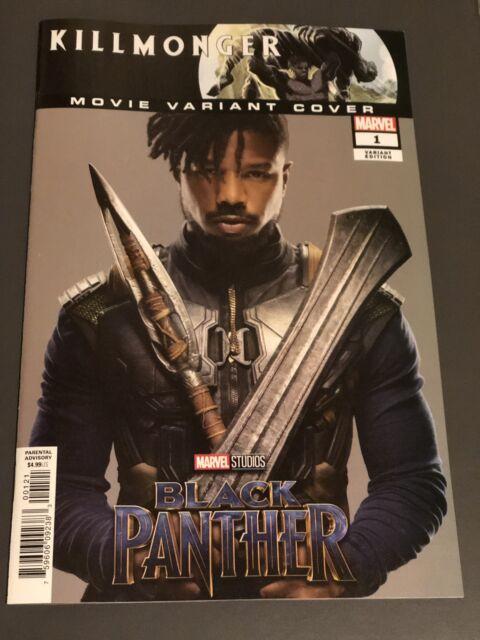 Killmonger #1 Comic - 1:10 Variant Cover Michael B Jordan Black Panther Movie
