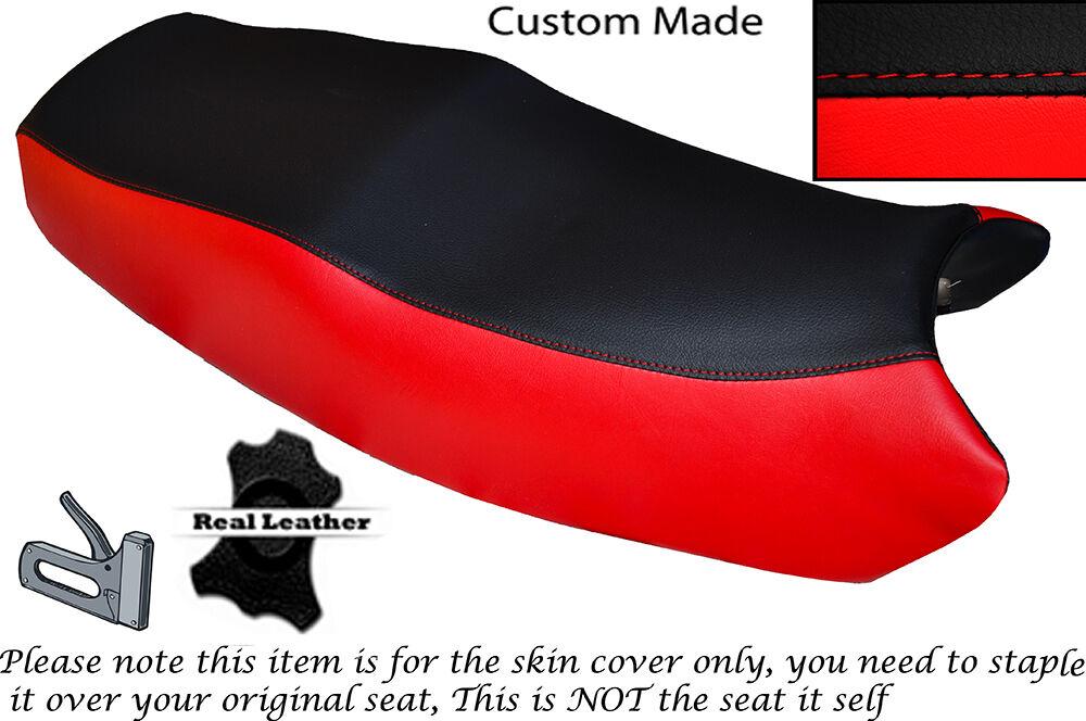 BLACK STITCH CUSTOM FITS HONDA DEAUVILLE NT 650 V 98-05 DESIGN 2 SEAT COVER