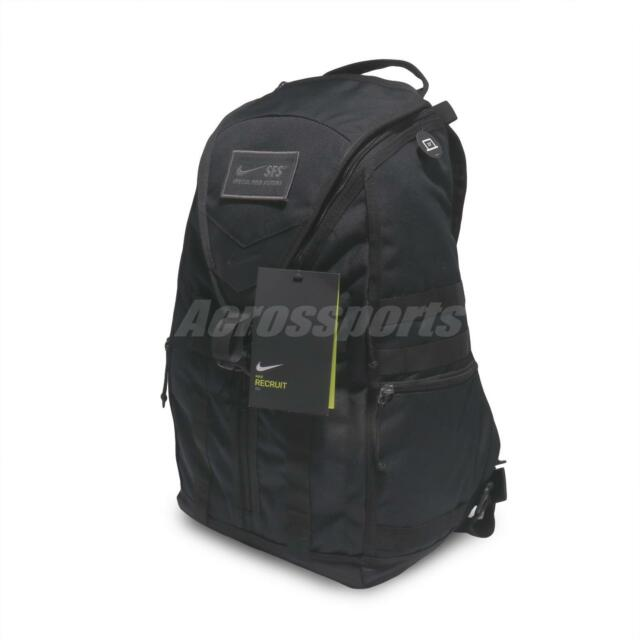 bf1079c214 Nike SFS Recruit Training Backpack Workout Fitness Gym 30L Bag Black BA5550- 010