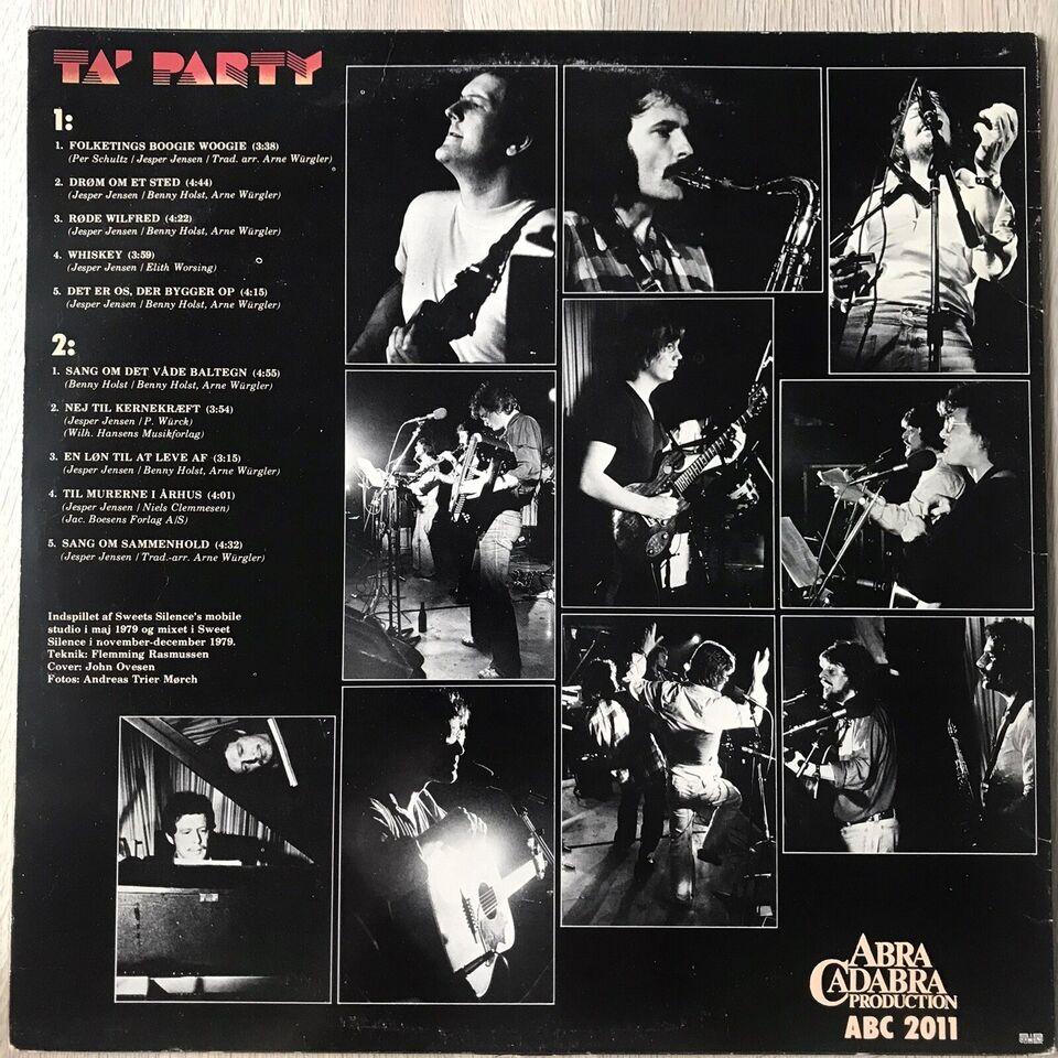 LP, Benny Holst/Arne Würgler, Ta' Party
