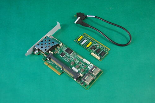 HP P410i Raid Controller 462919-001 w// 512MB card 462975-001 and cable