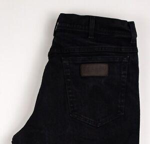 Wrangler Hommes Texas Extensible Slim Jeans Jambe Droite Taille W36 L32 ATZ90