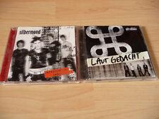 2  CD Set Silbermond: Verschwende Deine Zeit (Spezial Edition) & Laut gedacht
