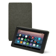 Amazon Fire HD 8 Tablet Case 7th Generation 2017 Release Charcoal Black