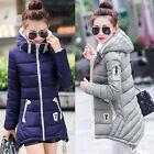 Fashion New women's Hooded cotton jacket winter Long coat Parka outwear