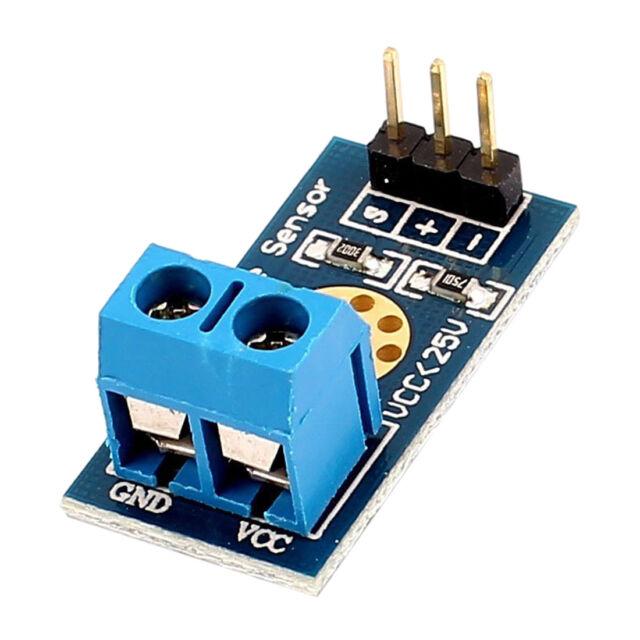 Max 25V Voltage Detector Range 3 Terminal Sensor Module for Arduino Q2I6 H6R7