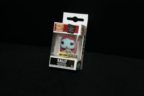 Funko Pocket Pop Keychain Hot Topic Exclusive GITD Disney Sally