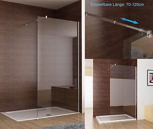 Walk in Dusche Seitenwand Duschwand Duschtrennwand Duschabtrennung ...
