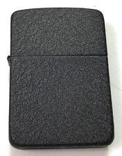 WWII US ZIPPO CIGARETTE LIGHTER-BLACK CRACKLE