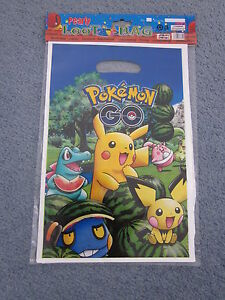POKEMON-LOLLY-LOOT-BAGS-6-IN-A-PACK-PARTY-SUPPLIES-NEW