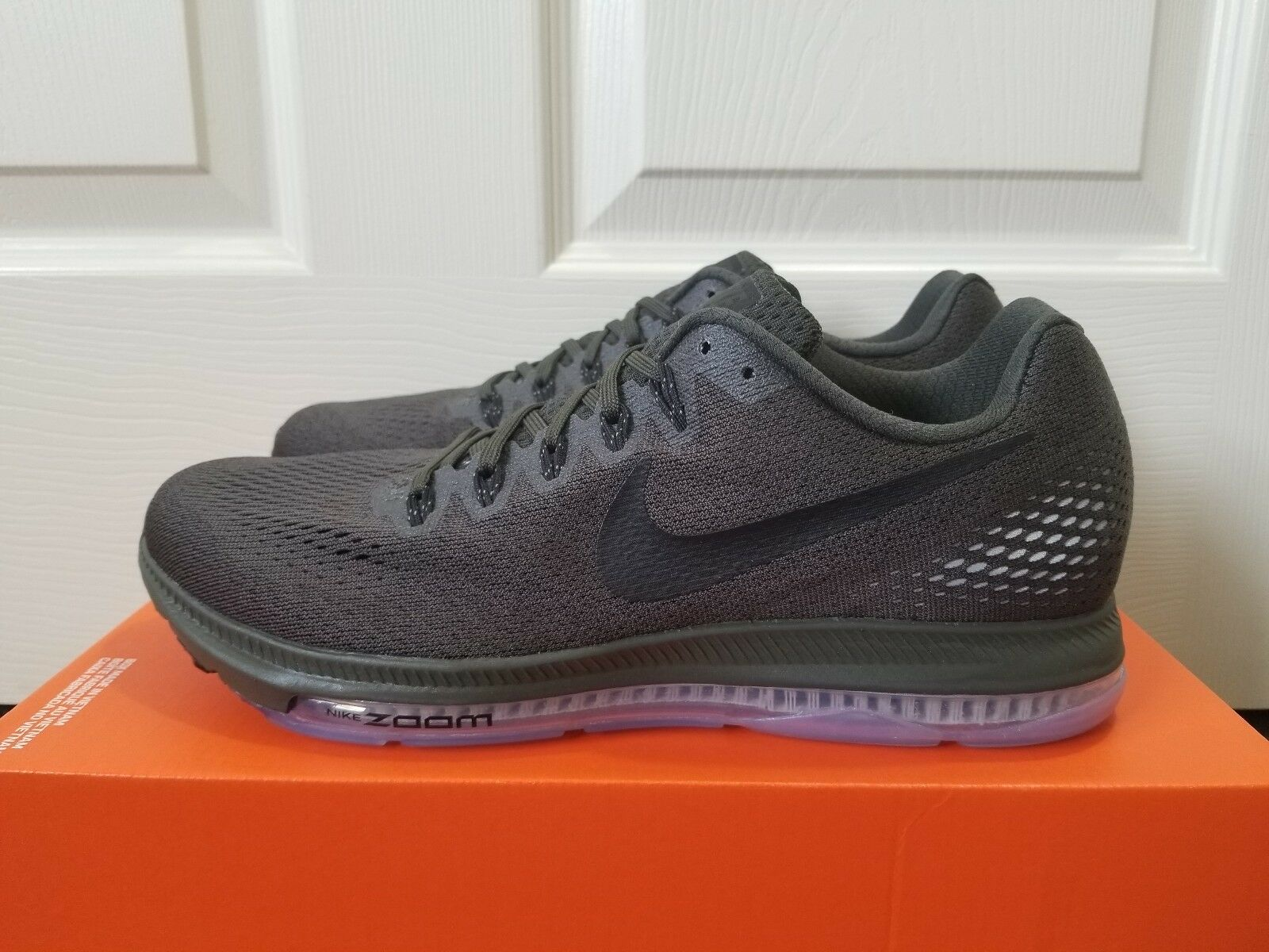 hot sale online 6a6fb 21695 Nike Zoom All Out Out Out Low Green Black Men s Running shoes Sz 9 (878670