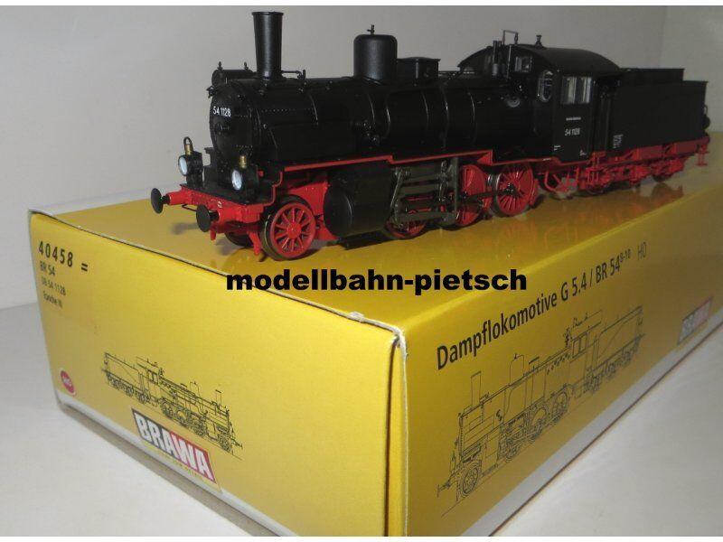 BRAWA 40458 h0 =  Locomotiva BR 54, DB 54 1128, Epoca III, ex G 5.4 , nuovo in scatola originale