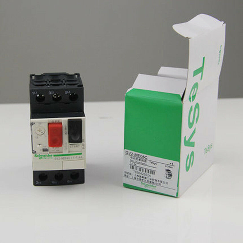 1PC NEW IN BOX Schneider GV2ME06C Breaker