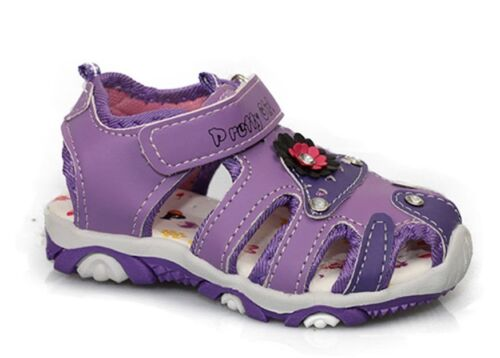 Mädchen Sandalen NEU Leder-Optik Outdoor Sandalette Trekking @2405//2451x