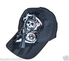 Sons of Anarchy Fear the Reaper Flex Fitted Baseball Cap / Hat  SOA64