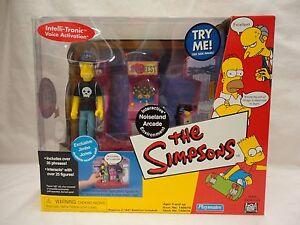 Playmates The Simpsons Noiseland Arcade With Exclusive Jimbo Jones J7