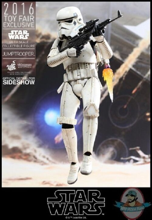 SDCC 1 6 Star Wars Jumptrooper Stormtrooper Figure Hot Toys 902768