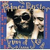 PRINCE BUSTER KING OF SKA CD NEW SEALED MANY TRACKS NEW TO CD + RARITIES MADNESS