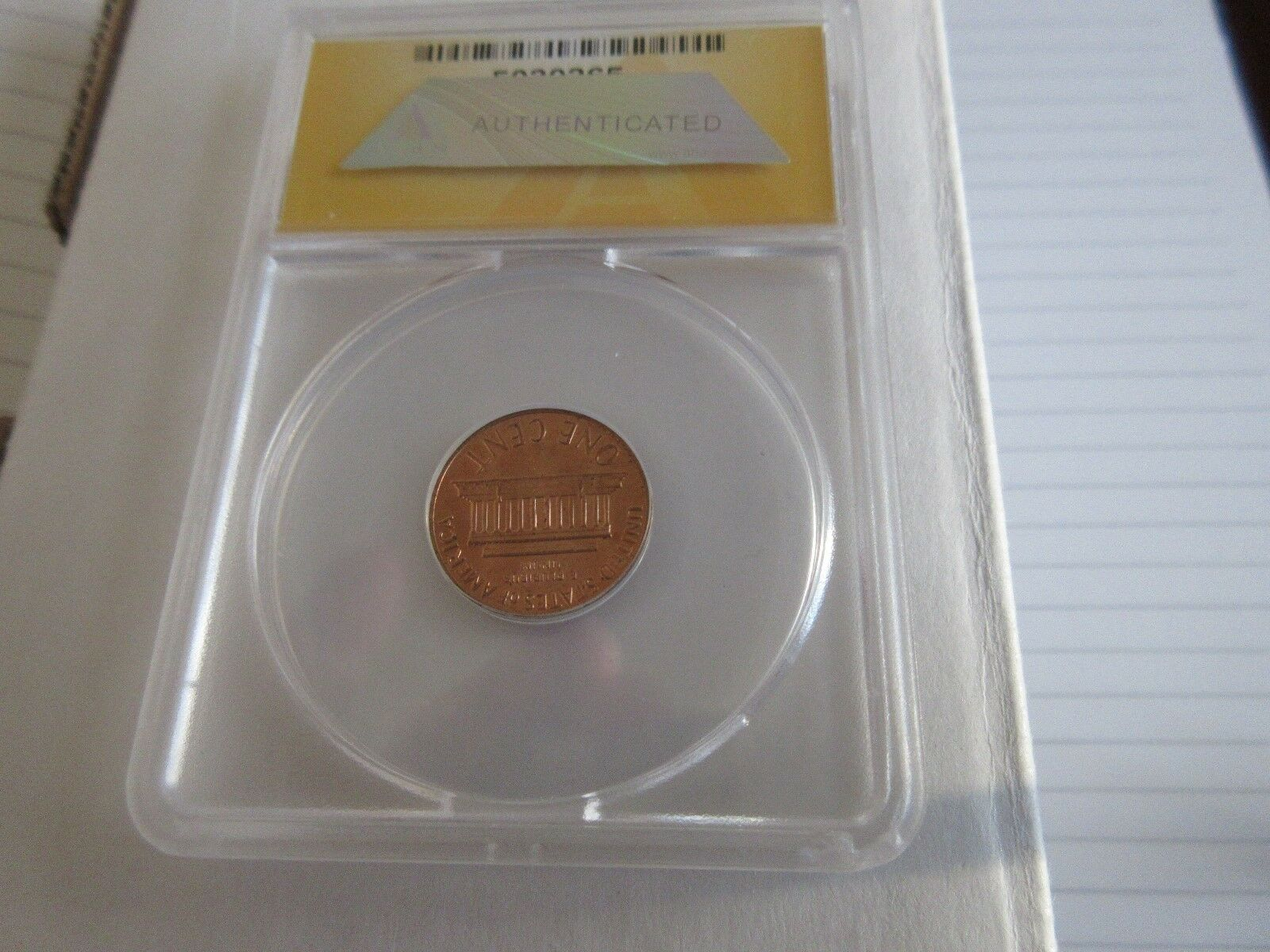 1970-S , Lincoln Penny , Large Date , Corroded , MS60 ,