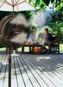 Image Is Loading Water Misting Fan Outdoor Patio Cooling Breezy Air