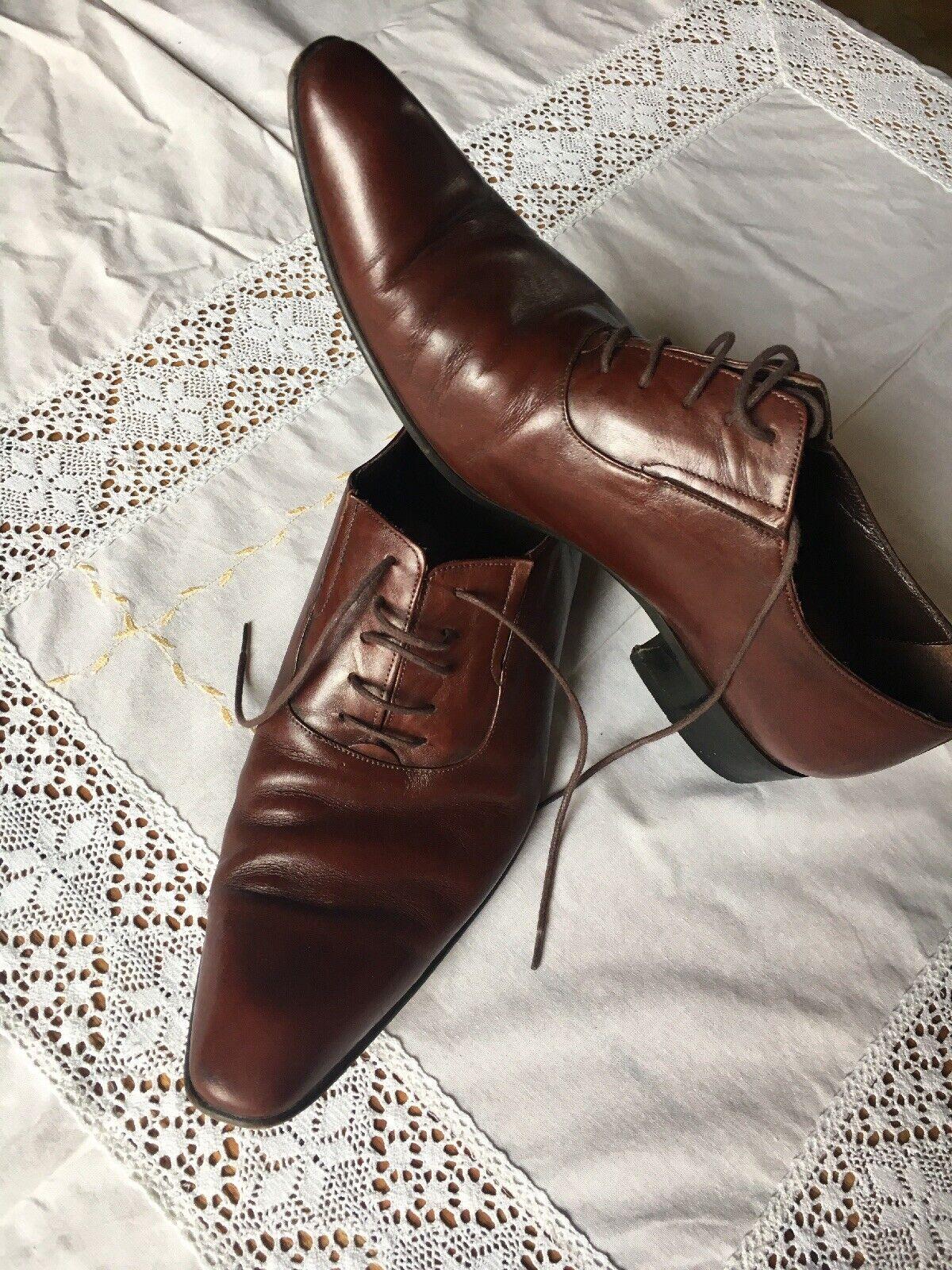 Hand Gemachte Herren Schuhe 42
