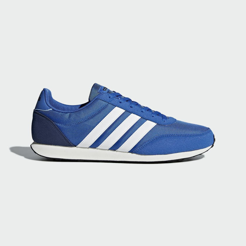 Adidas CITY V RACER NEO Mens shoes Sport Style NIB Walking BC0107 bluee