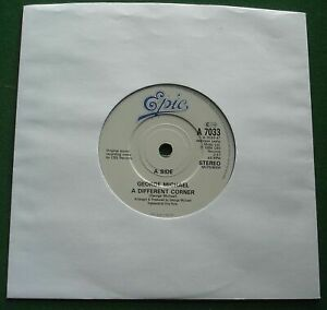 George Michael A Different Corner / Instrumental Epic A 7033