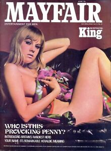 MAYFAIR Magazine, Volume 5, Number 8, 1970. VGC. Free UK Postage.