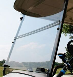 Front-Clear-Windshield-Folding-For-2007-UP-Yamaha-G29-Drive-Golf-Cart