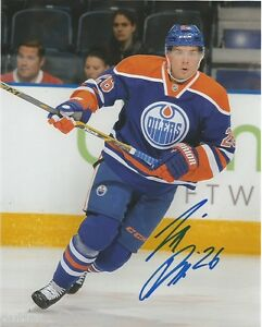 Edmonton-Oilers-Ilro-Pakarinen-Signed-Autographed-8x10-Photo-NHL-COA-D