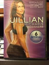 Jillian Michaels For Beginners: Backside-DVD-Jillian Michaels New Sealed