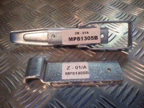 Trailer Lockable Overcentre Heavy Duty Latch /& Back plate set MP81305B// MP81405B