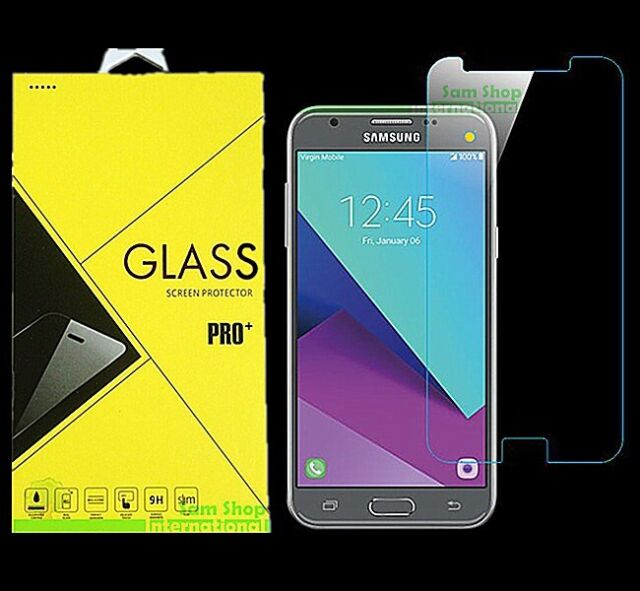 Premium Tempered Glass Screen Protector For Samsung Galaxy J3 Emerge / J3 2017