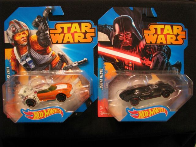 Hot Wheels Star Wars Luke Skywalker & Darth Vader 2014