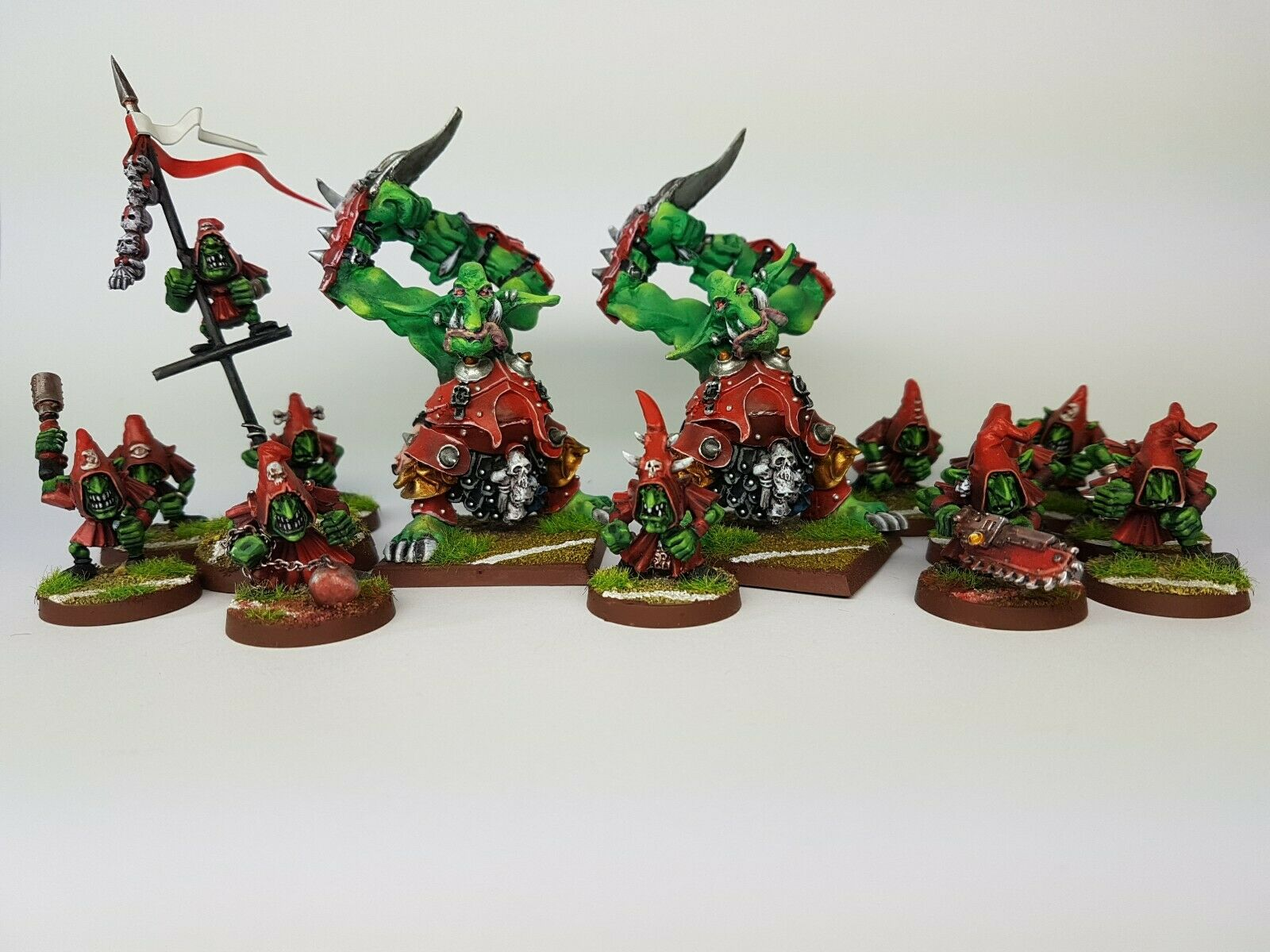 BLOOD BOWL GOBLINS TEAM Custom & Propainted - Commission to Order