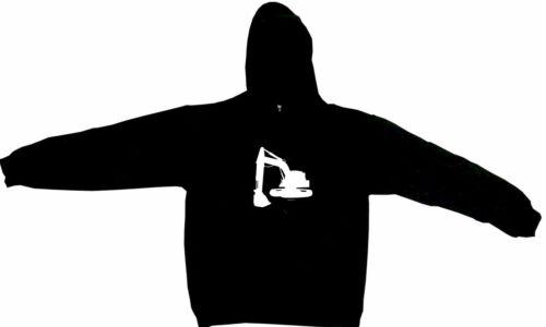 Construction Crane Big Logo Men/'s Hoodie Sweat Shirt Pick Size Small-5XL