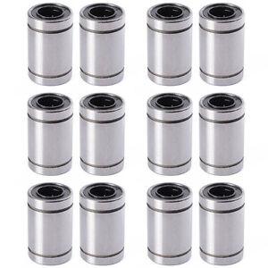 12PCS-LM8UU-Ball-Linear-Kugellager-Linearlager-Rollenlagerung-Innen-8mm-DE-TE249