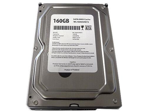 "New 160GB 8MB Cache 7200RPM SATA 3.5/"" Desktop Hard Drive works for SATA PC//Mac"