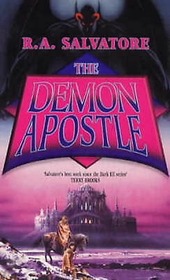 1 of 1 - Salvatore, R. A., The Demon Apostle, Very Good Book