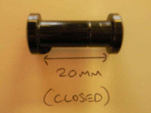 Mini Tasche Kohlefaser Stift Angelrute \u0026 Rolle Combo Teleskopstange
