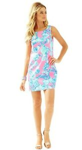 Pout Lilly Straight Pulitzer Cathy Princess Blue 4 New 2 Barefoot Pink 10 Dress wqRYWBU