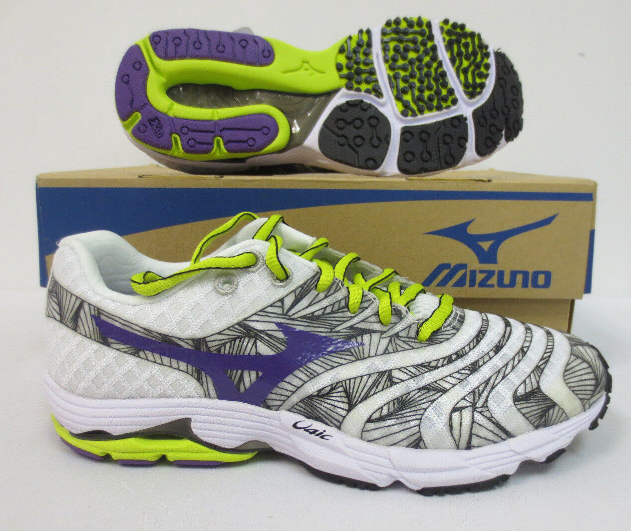 MIZUNO WAVE SAYONARA WOMENS SHOES SIZE 7 RUNNING WORKOUT JOGGING GYM NEW CUTE