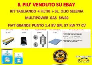 KIT-TAGLIANDO-FIAT-PUNTO-EVO-GPL-1-4-8V-57KW-77CV-OLIO-SELENIA-MULTIP-GAS