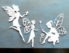 Fairy Princess CARD TOPPER die cut frozen birthday valentine invitation party